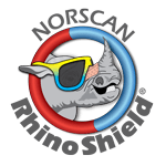 rhinoshield logo R mid gray